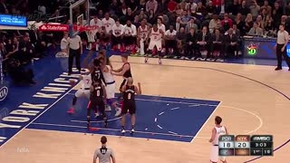 Carmelo Anthony Dunk Rejected HARD By Rim - Video