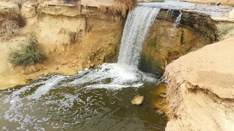 Old Ancient Waterfalls Found In Wadi El Rayan Egypt