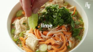 Leftover Thanksgiving Turkey Pho - Video