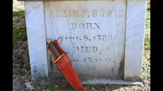 Where is the original Bowie knife? - Video