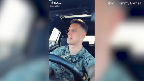 Marine goes to banned Tik Tok to rant about COVID-19