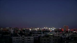 Rocket fire, explosions besiege Gaza for fifth night