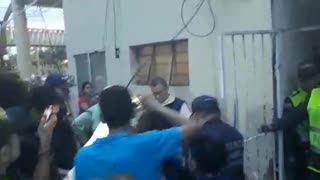 Se salvaron cinco árboles y activista terminó protesta en La Normal de Bucaramanga - Video