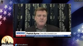 Patrick Byrne on His Meeting with Trump, Sidney Powell & Flynn