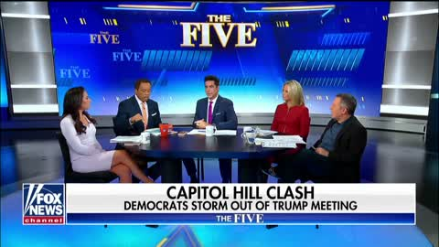 Gutfeld and Williams spar over Pelosi walkout
