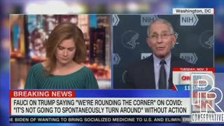 Fauci says forced masking would help