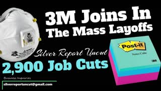 2,900 Mass Layoffs From 3M Despite Health Sales, Why Are They Losing So Much Money?