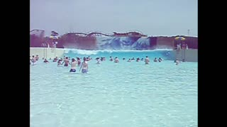 Wave Pool Takes Out Teens And Cameraman - Video