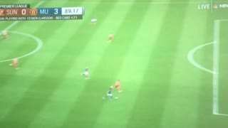 Marcus Rashford goal vs Sunderland 0-3 - Video