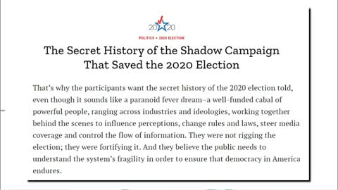 How The 2020 Election Was Hacked