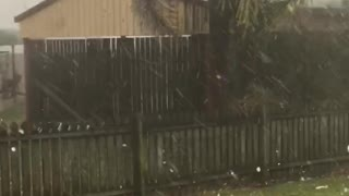 Maryborough Hail Storm - Video