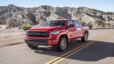 TOYOTA TUNDRA TRD - 2015 TOYOTA TUNDRA TRD PRO FIRST TEST REVIEW #Auto_HDFr