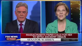 Warren Gives Family History But Says Won't Take DNA Test - Video