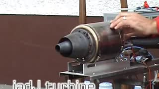 RC Jet turbine Engine Homemade - Video