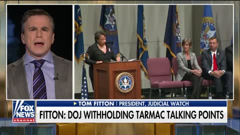 Fitton comments on Lynch calling the Clinton investigation a 'matter'