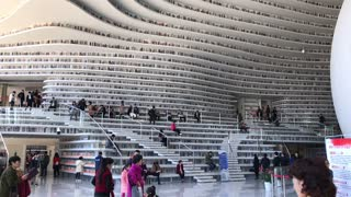 The Tianjin Binhai Library in China is simply jaw-dropping