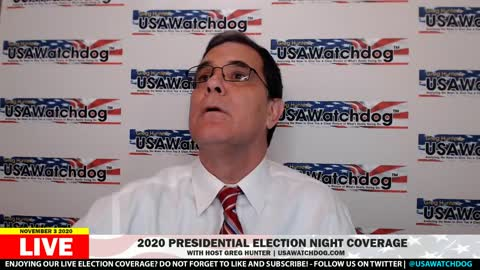 Greg Hunter's Election Night coverage of 2020 Election