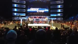 The Usos Win Tag Team Championship, Smackdown 3/21/17 - Video