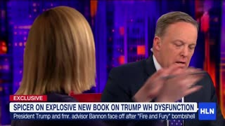 Sean Spicer: Bannon's Comments About Don Jr Were 'Out of Bounds' - Video