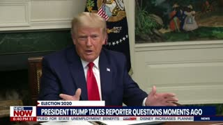 President Trump goes off on reporter + full press conference.