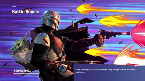 Playing As The Mandalorian in Fortnite