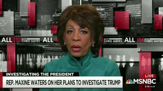 "Maxine Waters accuses Trump of committing a ""high crime"""