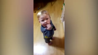 Mom Pranks Baby With Tomato - Video