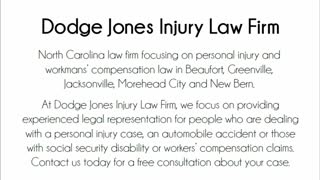 new bern personal injury lawyer - Video