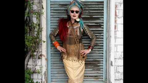 Fashion Conscious Senior Citizens Who Have Their Very Own Style