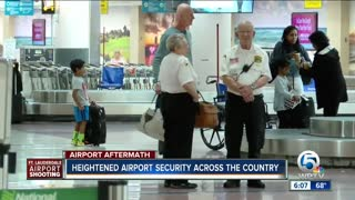 Operations return to normal at PBIA after shooting at Fort Lauderdale airport - Video
