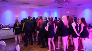 Sweet Sixteen Cupid Shuffle & Wobble Dance - Video