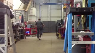 Dad vs Unicycle  - Video