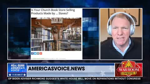Jones on Christian book stores selling products made by slaves
