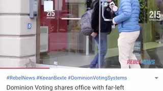 DOMINION VOTING shares OFFICE SPACE with SOROS LINKED GROUP