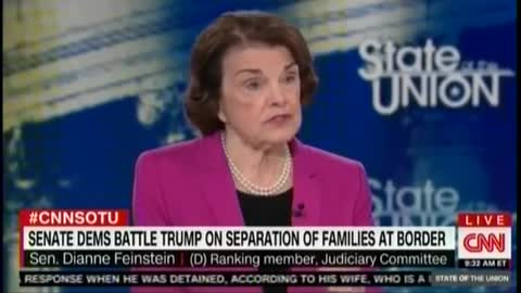 Feinstein — I Didn't Pay Attention To Immigration Under Obama But I Am Now