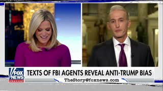 Trey Gowdy says FBI agents were 'conspiring' and 'plotting' against Trump being elected - Video