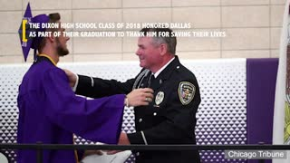 Dixon High School Resource Officer Honored