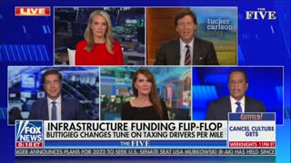 Tucker Carlson And Juan Williams Clash On Infrastructure Funding