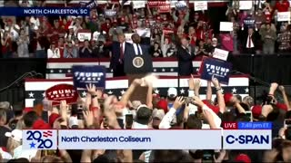 Tim Scott joins Trump and South Carolina rally