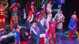 Hit musical Kinky Boots opens in West End - Video