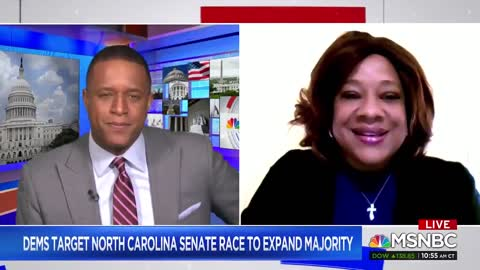 "Dem North Carolina Senate Candidate On ""White Male Candidates"""