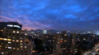 Motion timelapse sunset clouds with DJI Osmo Plus