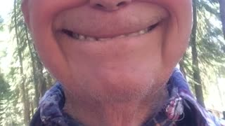 Grandpa Using Snapchat  - Video