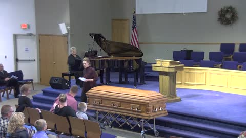 My Dad's Funeral Service - Where will YOU spend eternity?