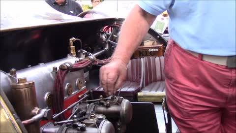 1925 bugatti type 13 Brescia at Cars & Coffee in Peer,Belgium