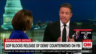 WATCH: Nancy Pelosi Has a Meltdown on CNN and Calls the Memo 'False' Repeatedly 2 - Video