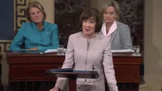 Susan Collins lays out evidence against Christine Ford