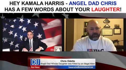 Angel Dad Chris has a Few Words for Kamala Harris
