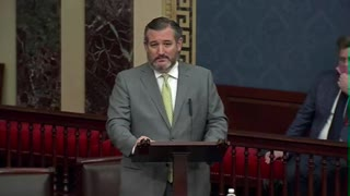 Ted Cruz SLAMS Chinese Communist Party During Senate Speech
