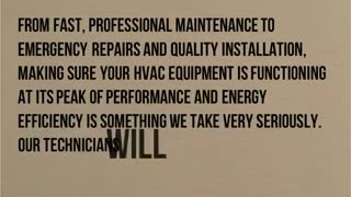 Napa heating and air conditioning service - Video